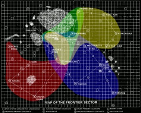 Frontier Timeline: Possible colonization order - Star ...
