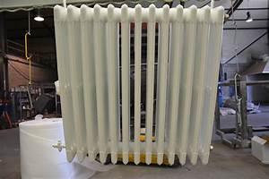 peinture radiateur fonte oxi radiateur fonte acier With repeindre un radiateur en fonte