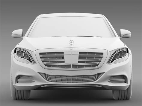 Mercedes Maybach Pullman S 600 Vv222 2016 3d Model Max Obj
