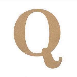 10quot decorative wood letter q ab2041 mardigrasoutletcom With wooden letter q