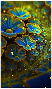 abstract, Flowers, Fractal, Fractal Flowers Wallpapers HD ...