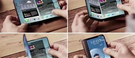 samsung reportedly working   foldable smartphones