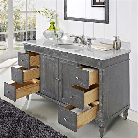 Fairmont Designs Rustic Chic Vanity by Fairmont Designs Rustic Chic 48 Quot Vanity 142 V48 143 V48