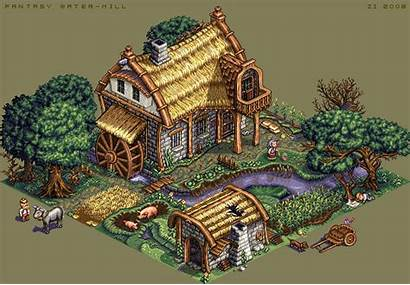 Water Mill Pixel Zi Pixeljoint Most Ever