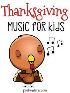 thanksgiving songs for preschool prekinders