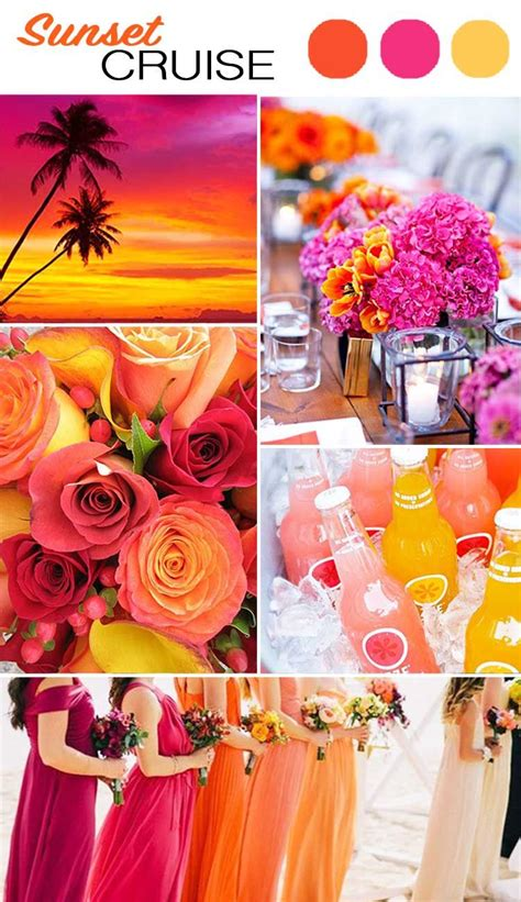 The Top 5 Color Palettes For Your Summer Wedding Wilkie