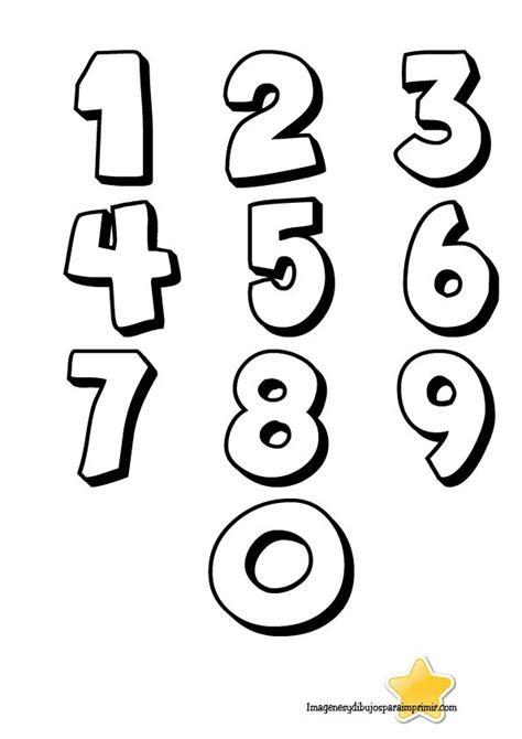 Numeros Para Colorear Del 1 Al 10  Buscar Con Google