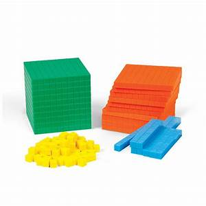 Differentiated Base Ten Blocks Set