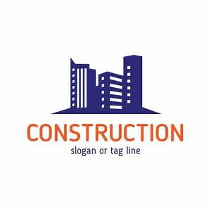 Construction company logo templates Vector | Free Download
