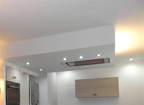 spot plafond cuisine le rénovation entrée séjour salon cuisine pour