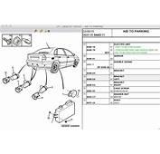 Parking Assistance/reversing Sensor Problem
