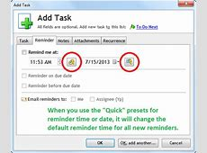 How to change the default reminder time – Dextronetcom Blog