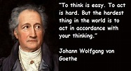 JOHANN WOLFGANG VON GOETHE QUOTES image quotes at ...