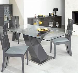 Table Cuisine Blanche : table de cuisine en verre table basse ronde blanche pas cher maisonjoffrois ~ Teatrodelosmanantiales.com Idées de Décoration