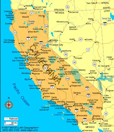 california map infoplease