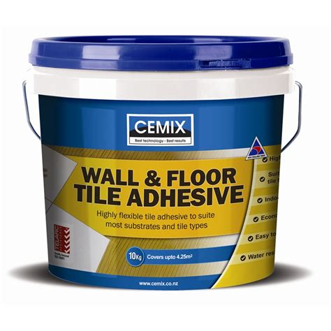 Tile Adhesive Remover Bunnings by Cemix Wall Floor Tile Adhesive 10kg Bunnings Warehouse