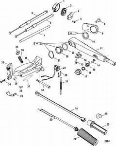 Mercury 40 Elhpt Serial   1b30447  Manual Gear Shift