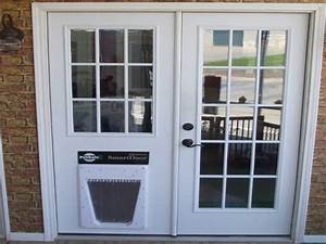 Cat door aluminum dog puppy through glass sliding doggie for Dog doors for sale
