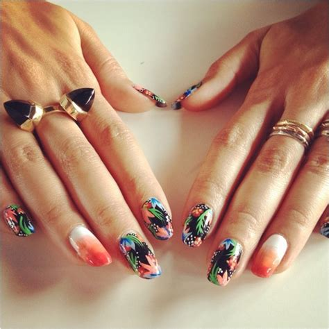 tropical nail designs 11 tropical summer nails designs