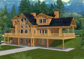 cool cabin plans 4560 sq ft majestic style log home log design coast