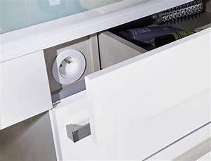 amenagement des salles de bains et douches seniors With meuble salle de bain avec prise electrique