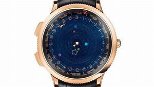 The Watch With A Real-Time Solar System Inside - Geekologie
