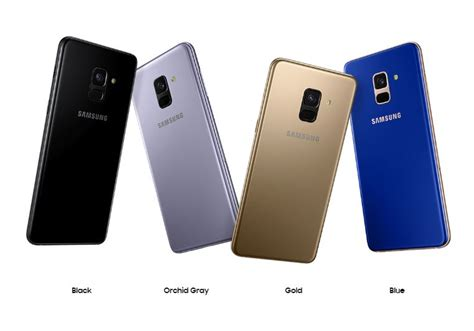 samsung galaxy a8 2018 is company s mid range phone to feature real time hdr