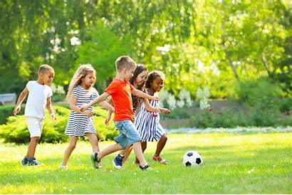 Children Play Park Active Physical Summer Activity