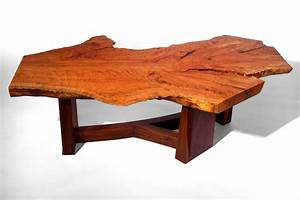 Coffee tables ideas wood slab coffee table plans natural for Oak slab coffee table