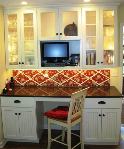 Do you regret your desk in the kitchen?