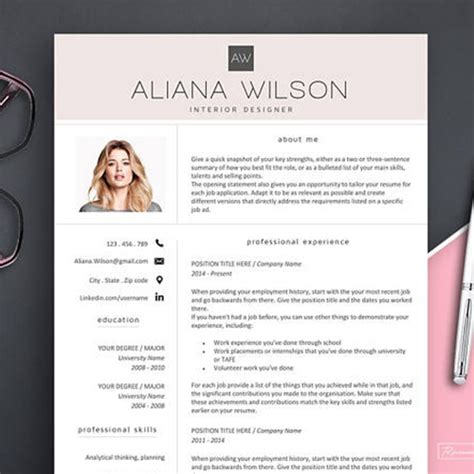 behold  stunning creative resume template