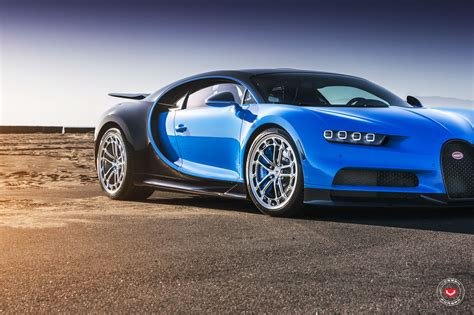 Has been added to your cart. First Bugatti Chiron Gets Vossen Forged Wheels - autoevolution