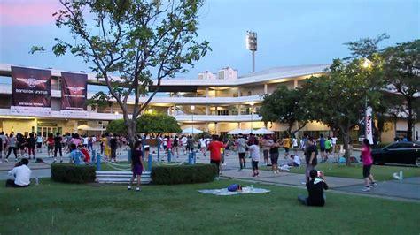 เต้นแอโรบิค สนามกีฬาไทย-ญี่ปุ่น ดินแดง - YouTube