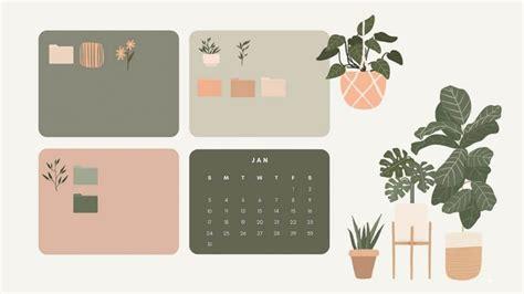 12 aesthetic desktop organizer wallpapers backgrounds