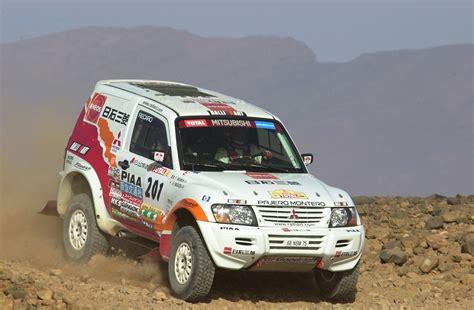 Kaos Rally Dakar Mitsubishi Pajero 2002 mitsubishi pajero dakar rally mitsubishi pajero