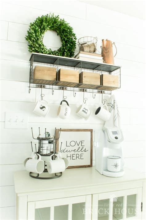 You've got to check out these amazing ideas done by every day people. 20 Coffee Station Ideas To Light Up Your Day - Craftsonfire
