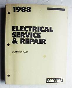 1988 Domestic Cars Mitchell Electrical Service  Repair