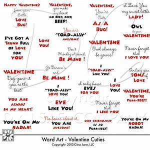 Cute Valentine Card Sayings ~ Top Ten Quotes