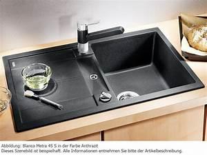 Evier Cuisine Encastrable : evier blanco encastrable blancometra 45 s 1 cuve notre ~ Premium-room.com Idées de Décoration