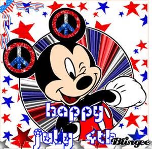 Mickey Mouse 4th of July Clip Art