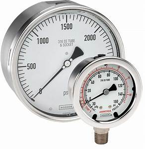 400/500 Series All Stainless Steel Gauges