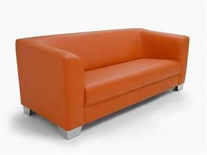 3 Sitzer Couch : chicago sofa couch 3 sitzer orange kunstleder kunstledercouch 3 sitzer sofa ebay ~ Indierocktalk.com Haus und Dekorationen
