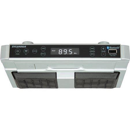 Sylvania Skcr2810bt Bluetooth Kitchen Undercounter Radio