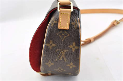 authentic louis vuitton monogram tambourine shoulder bag