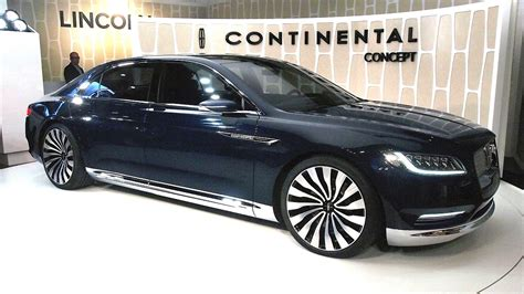 2017 Lincoln Continental Concept by 2017 Lincoln Continental Concept Price Images Release Date
