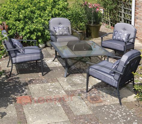 4 person luxury padded albany garden