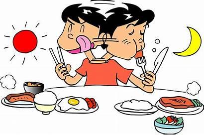 Eating Clipart Meal Eat Transparent Dinner Creazilla