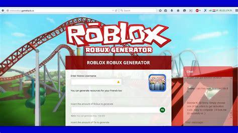 roblox robux hack generator