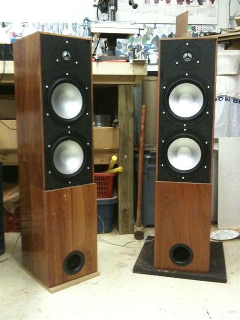hardwood floorstanding speakers  steps  pictures