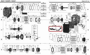 Valve Body Internal Wiring Harness  Automatic Transmission A6gf1 A6mf1 09
